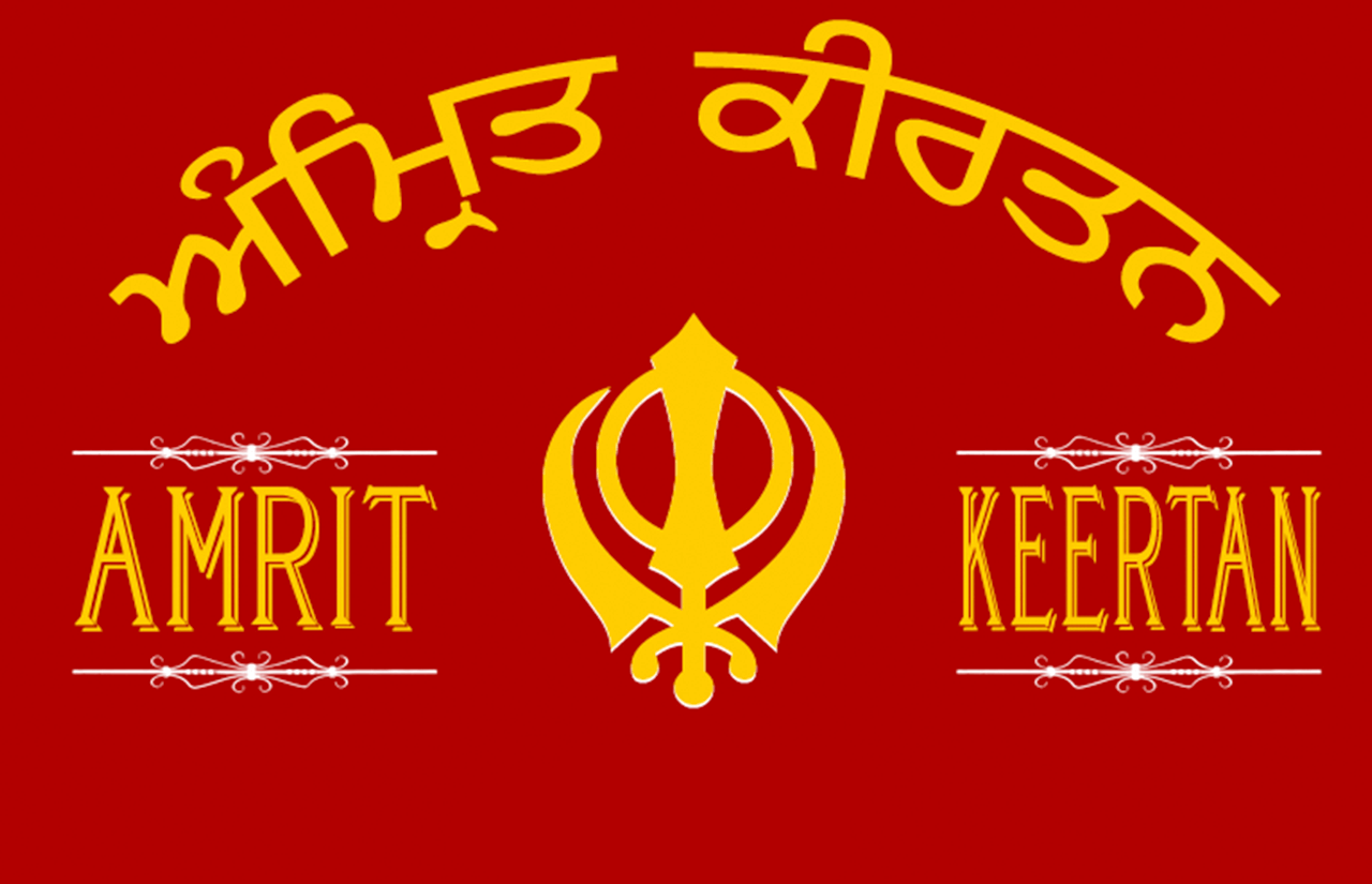 <b>Amrit Keertan</b><br> Popular with professional Sikh Kirtani around the world, the Amrit Keertan is a collection of Shabads from Sri Guru Granth Sahib Jee, and other Sikh scriptures, most commonly sung in Sikh congregations.